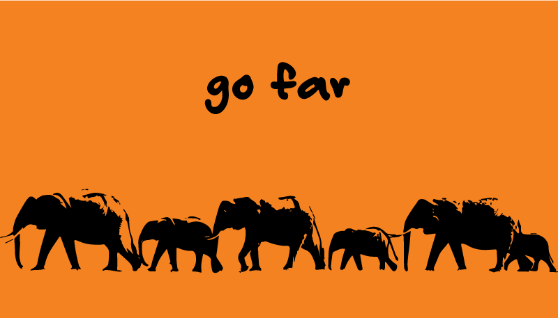 Go Far African proverb